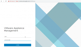Vmware Appliance Management Genel Bakış