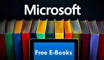 Microsoft Tarafından Sektöre Hediye Edilen Ücretsiz Kitaplar