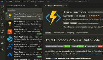 Azure Functions Üzerinde Python Projesi Oluşturma