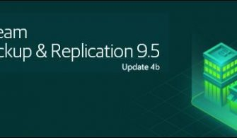 Veeam Backup & Replication 9.5 4b Yükseltme