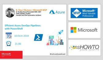 Azure Webcast Series: Efficient Azure DevOps Pipelines with PowerShell