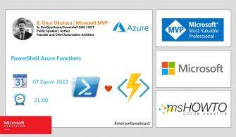 Azure Webcast Series:PowerShell Azure Functions