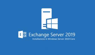 Windows Server 2019 Core Üzerine Exchange Server 2019 CU1 Yükleme