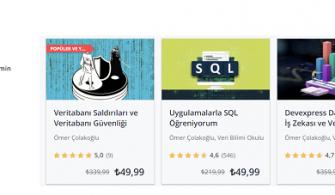 Udemy – Ücretsiz SQL Server Eğitimleri