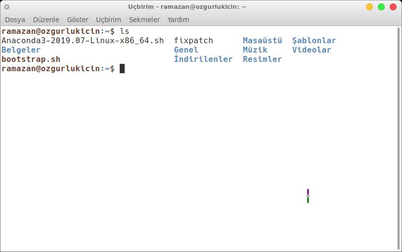 Pardus 19 üzerinde Python Anaconda Dağıtımı