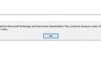 """One or more rules could not be uploaded to Microsoft Exchange and have been deactivated"" Hatasının Nedeni ve Çözümü"