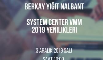Mshowto Webcastleri Devam Ediyor System Center VMM 2019 Yenlikleri
