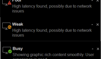 Citrix Connection Quality Indicator