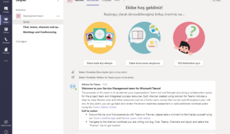 Microsoft Teams Policy Ayarları (Meeting, Group, Messaging Policy'leri) – Hızlı Bakış