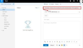 Biliyor muydunuz: Exchange Server Mail Tips Ayarlama