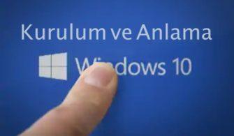 Biliyor muydunuz: Windows 10 Kurulum ve Anlama