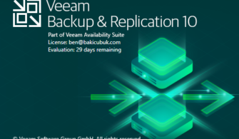 Veeam Backup Replication v10 Kurulumu