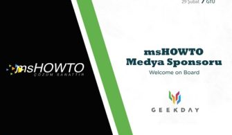 GeekDay 2020 Etkinliği Medya Sponsoruyuz