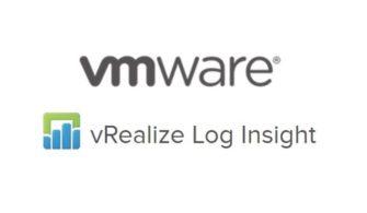 VMware vRealize Log Insight Root Password Reset