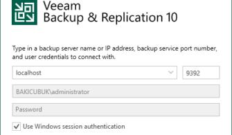 Veeam Backup & Replication 10 Hyper-V Host Ekleme