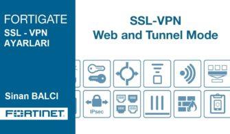 Fortigate SSL-VPN ile İşyerinize Güvenli Erişin