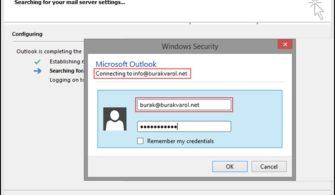 Exchange Online: Shared Mailbox'ları Outlook'a Normal Hesap Olarak Ekleme