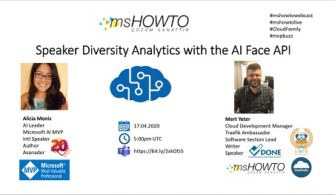 Speaker Diversity Analytics with the AI Face API Webcast on YouTube