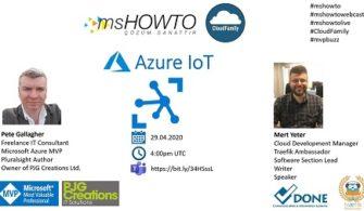 Azure IoT Webcast on YouTube