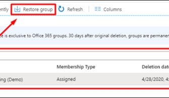 Microsoft Teams: Silinen Kanal (Channel) veya Ekiplerin (Team) Kurtarılması