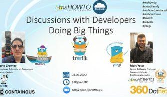 Developers Doing Big Things Webcast'ine Davetlisiniz