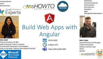 Build Web Apps with Angular Webcast'imize Davetlisiniz