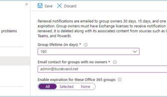 """Microsoft Teams: Kullanılmayan Ekiplerin """"Expiration Policy""""ler ile Yönetimi"""