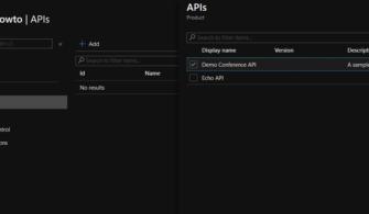 Yazılım Geliştiriciler için Azure: Azure API Management – Bölüm 4 (OpenAPI ve Products)