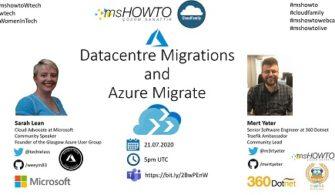 Datacentre Migrations and Azure Migrate Webcast'ine Davetlisiniz