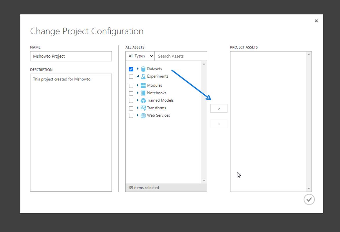 Create Project on Azure ML Stuido