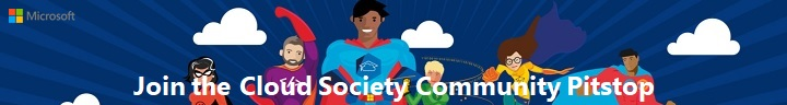 Join the Cloud Society Community Pitstop