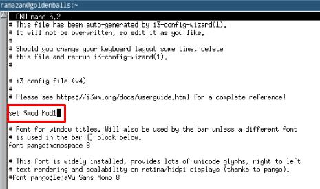 Arch Linux i3wm Configured Modifier Güncellenmesi