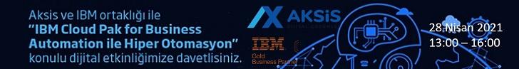 Aksis ile IBM Ortaklığıda gerçekeleşecek etkinliğe davetlisiniz
