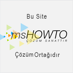 Türkiye'nin en doğru, dolu dolu ve hatasız anlatımları ile teknik yazılarına, makalelerine, video'larına,<br /> seminerlerine, forum sayfasına ve sektörün önde gelenlerine ulaşabileceğiniz teknik topluluğu, MSHOWTO