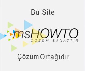 Türkiye'nin en do?ru, dolu dolu ve hatas?z anlat?mlar? ile teknik yaz?lar?na, makalelerine, video'lar?na,  seminerlerine, forum sayfas?na ve sektörün önde gelenlerine ula?abilece?iniz teknik toplulu?u, MSHOWTO